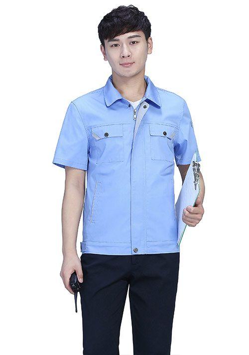短袖工作服定制的注意事项娇兰服装有限公司